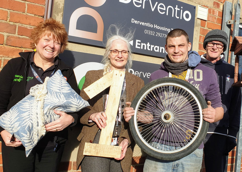Derby's Derventio Housing Trust celebrates a decade of helping the homeless