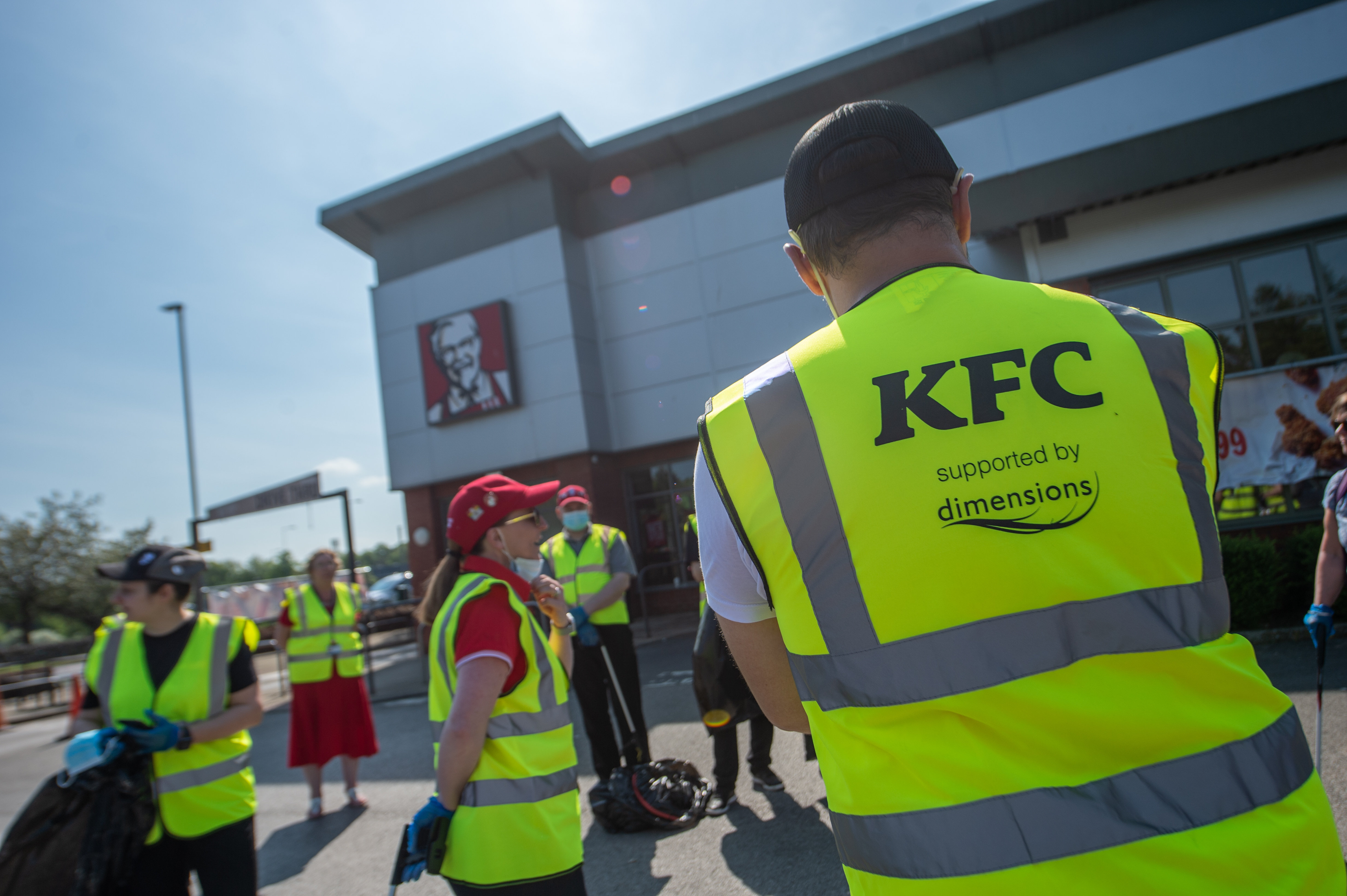 Dimensions supports KFC's #GBSpringClean Campaign