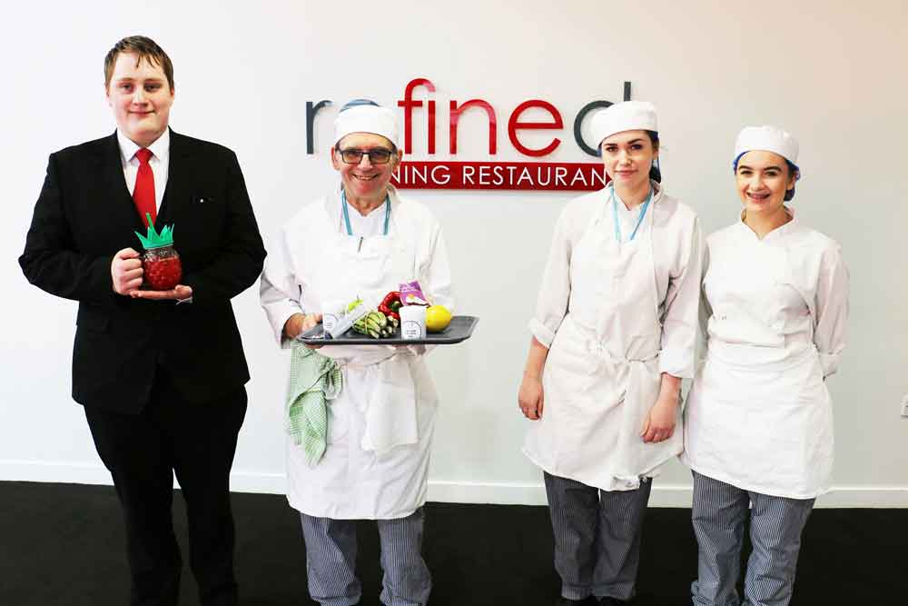 Molecular gastronomy meets fine dining at Refined