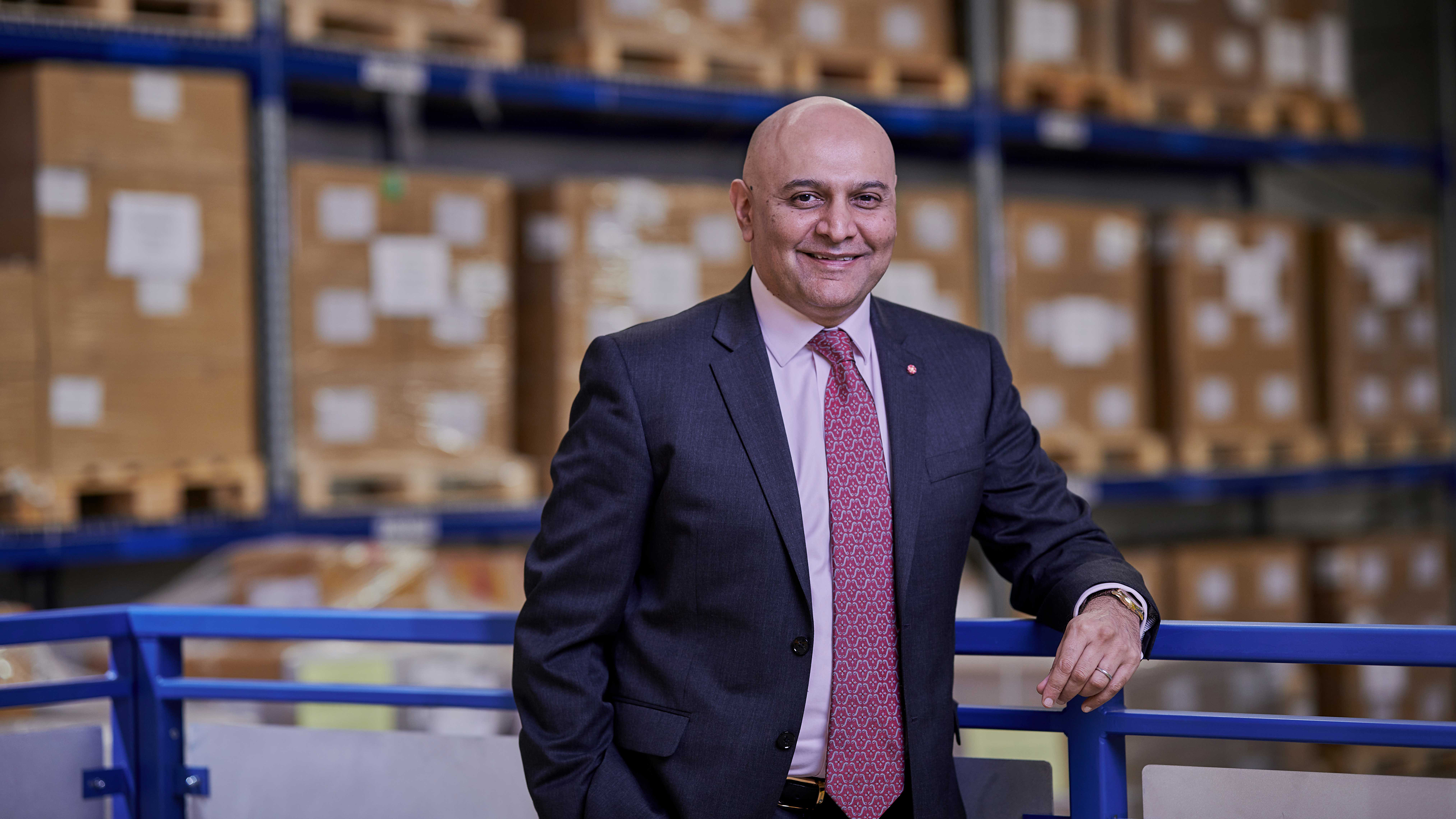 Dr Kotecha Named One of the UK's Top 50 Most Ambitious Business Leaders