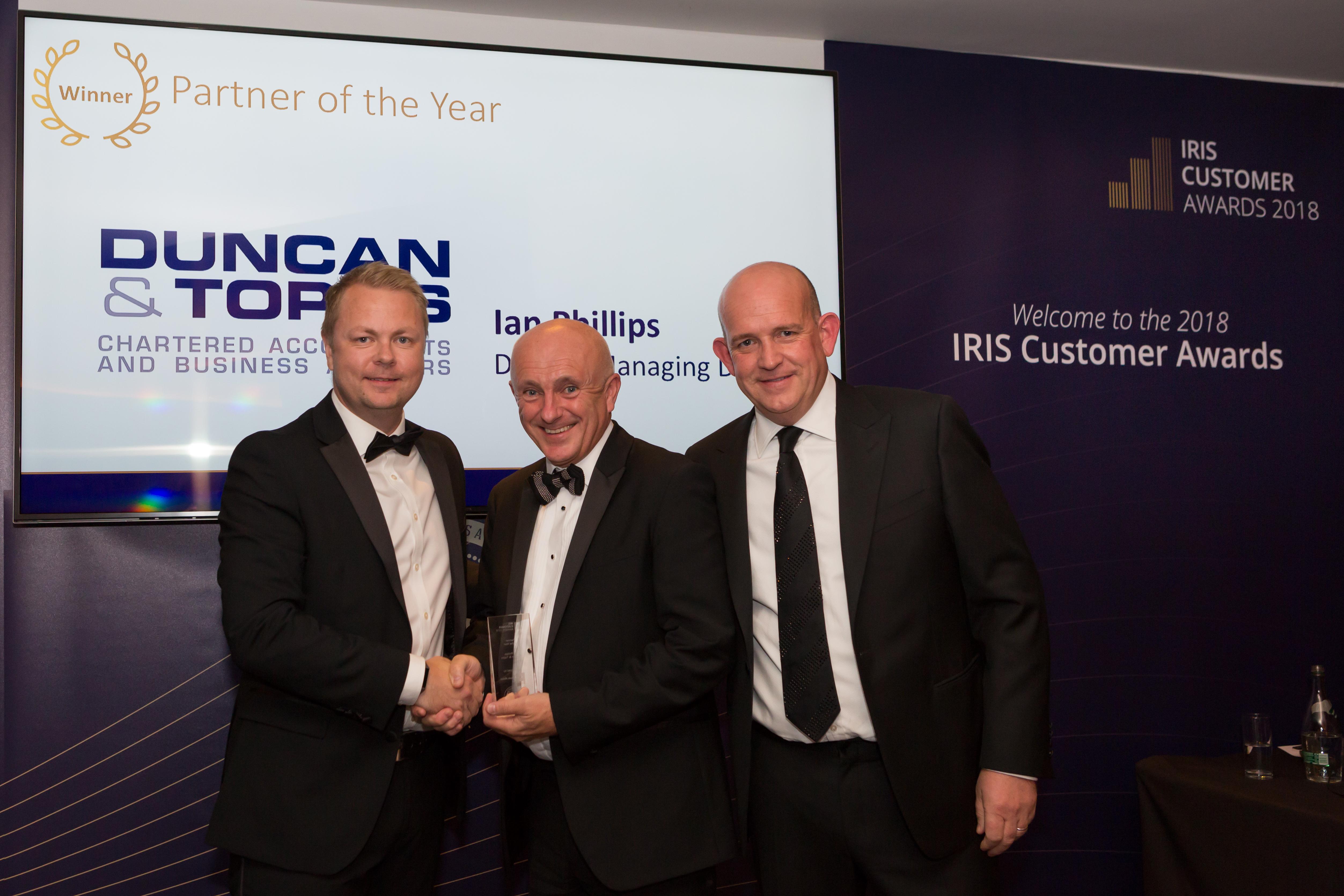 Duncan & Toplis director named 'Partner of the Year'