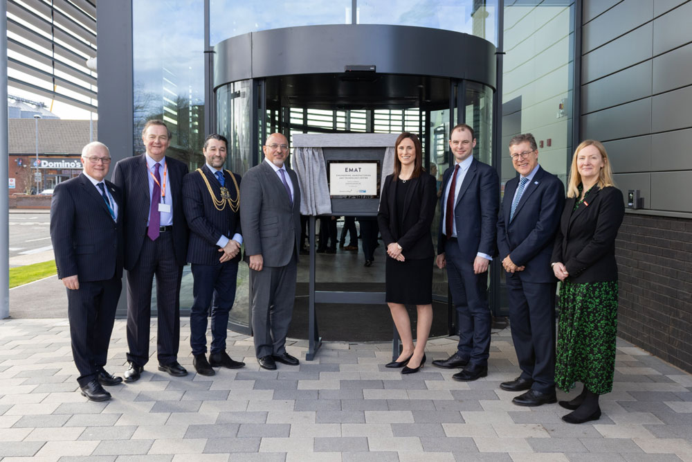 Business Minister Opens New Engineering Centre at Boston College