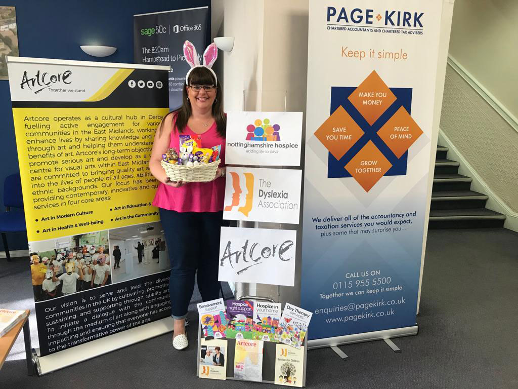 Three charities to benefit from local accountancy firm's fundraisers