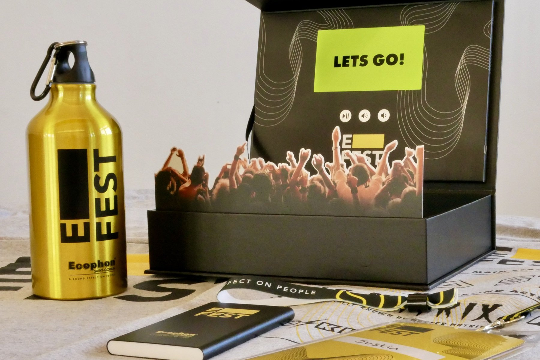 Notts creative agency's festival in a box twist on Zoom meetings is an instant hit