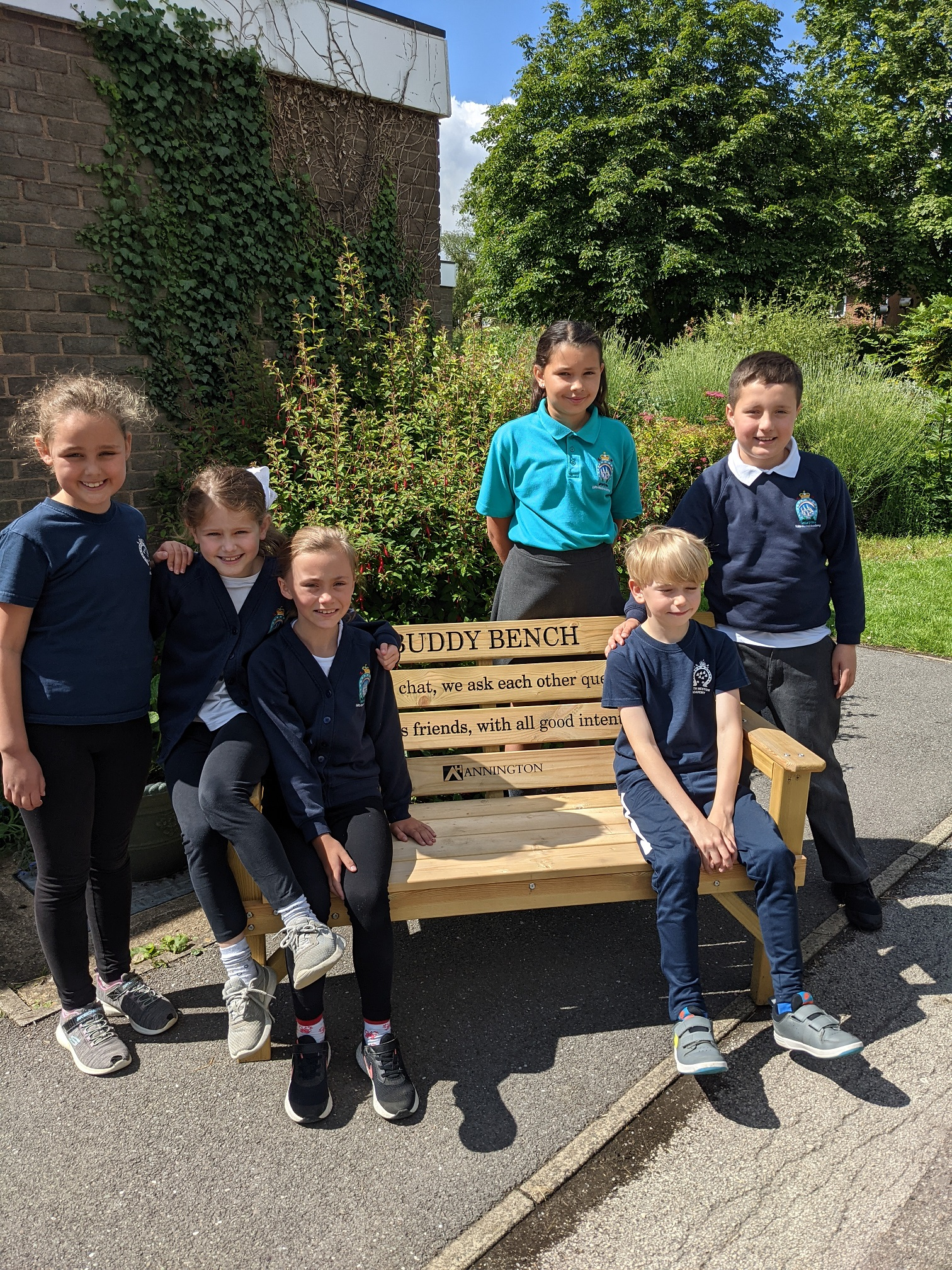 ANNINGTON SHARES GIFT OF FRIENDSHIP WITH EDITH WESTON SCHOOL