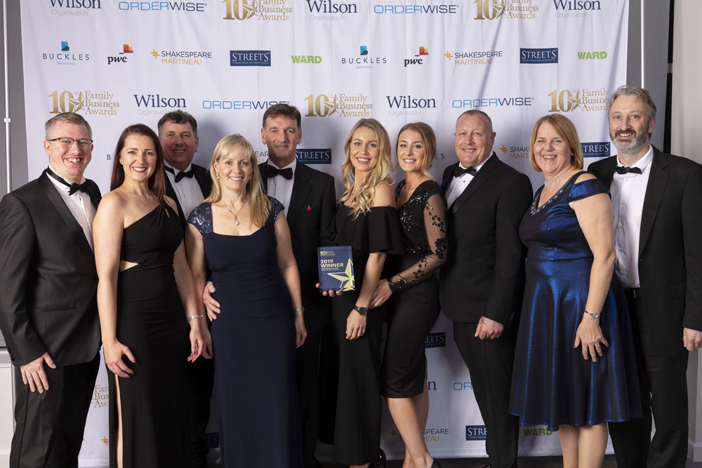 Loughborough family business are winners of not one, but TWO top awards at the Midlands Family Business Awards!