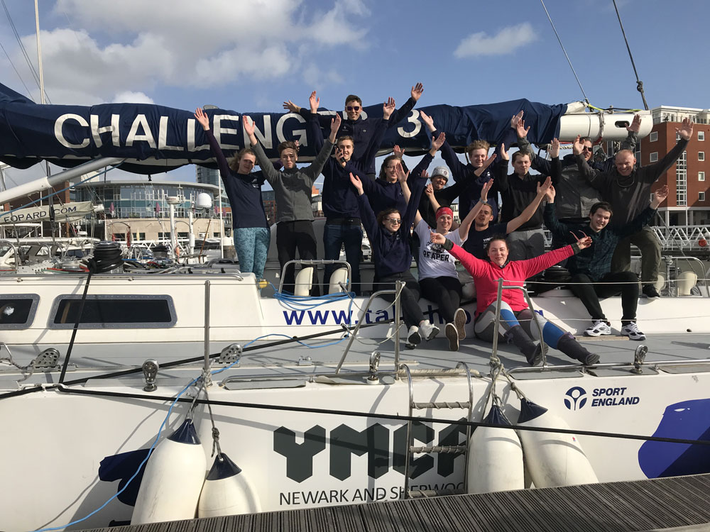 Thousands raised as Newark residents sail the seas to tackle social issues