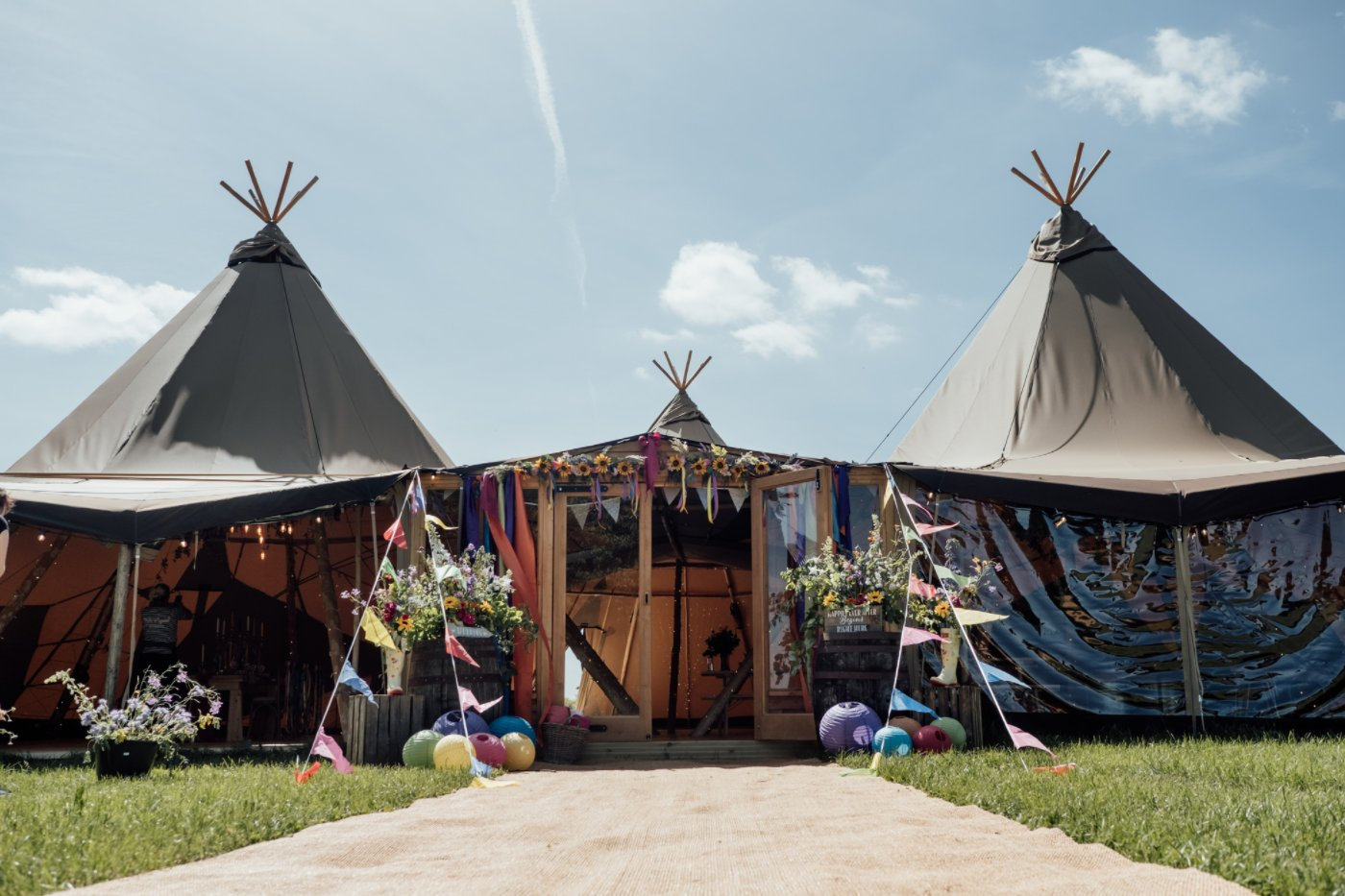 Events Company Launch Exciting New Tipi Service to Boost COVID Recovery