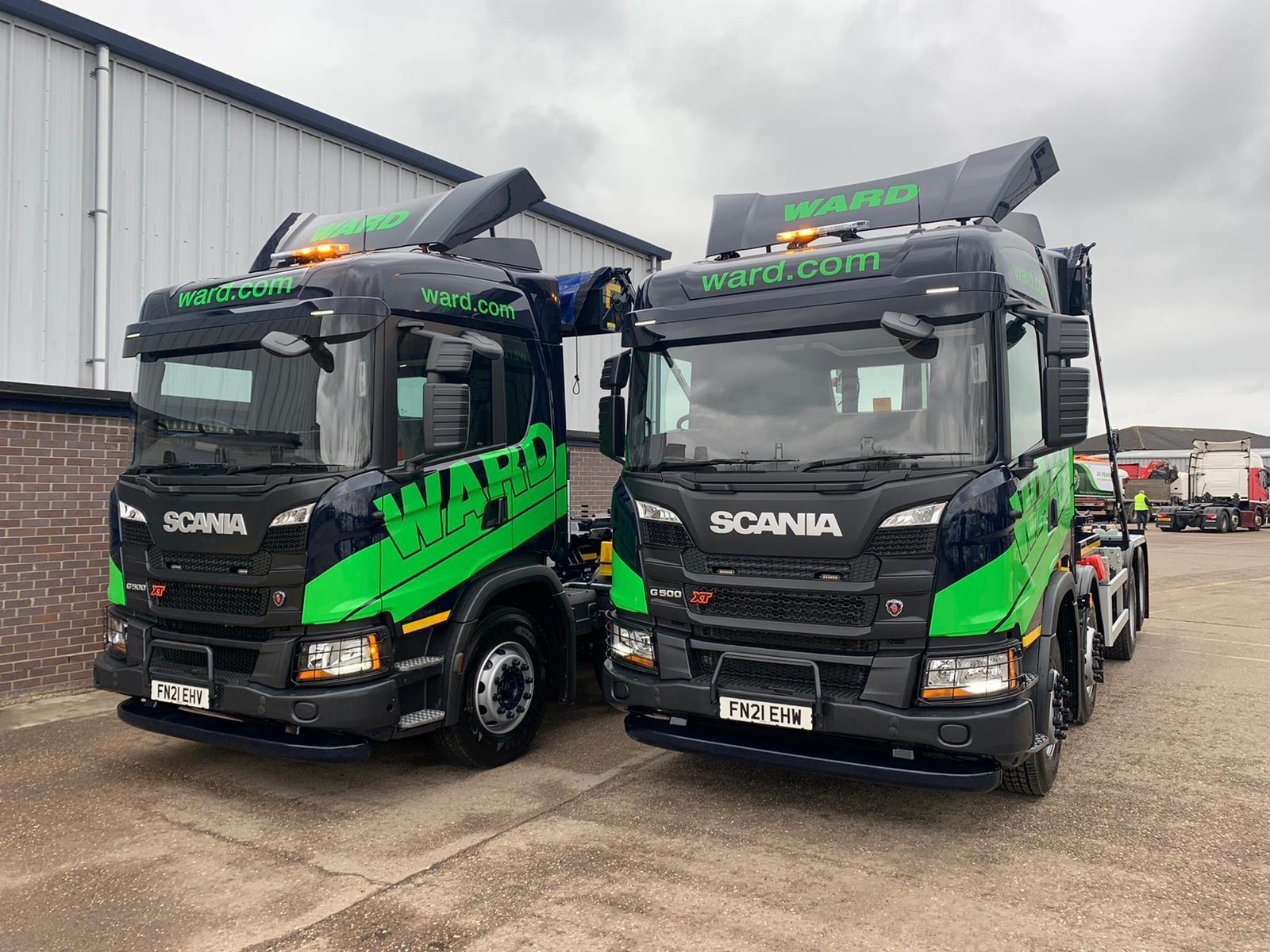 Ward invests £2million in green upgrade to vehicle fleet