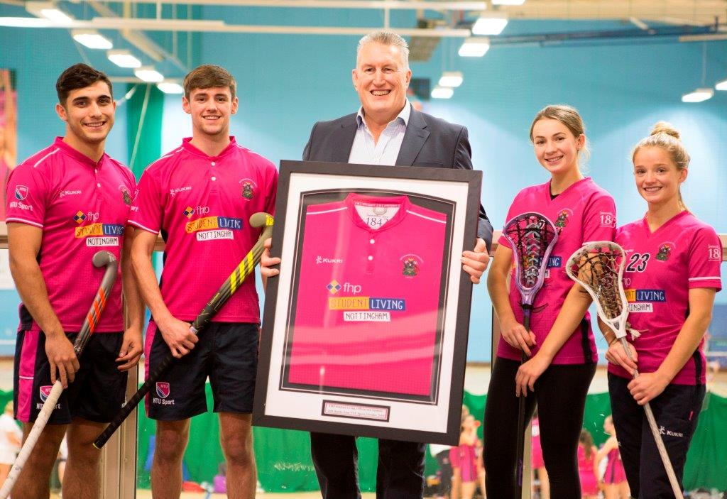 New sponsorship deal is a boost for Trent Sports Teams