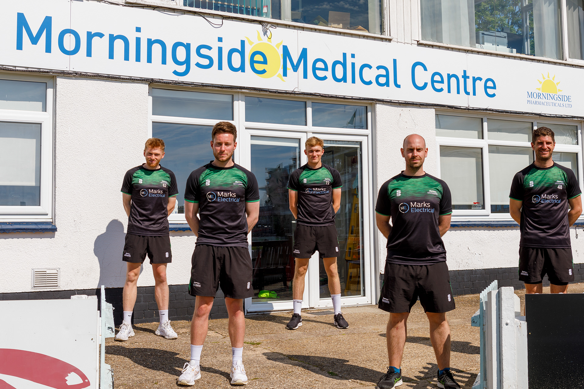 Junior Cricketers Learn About Sports Science at Medical Centre