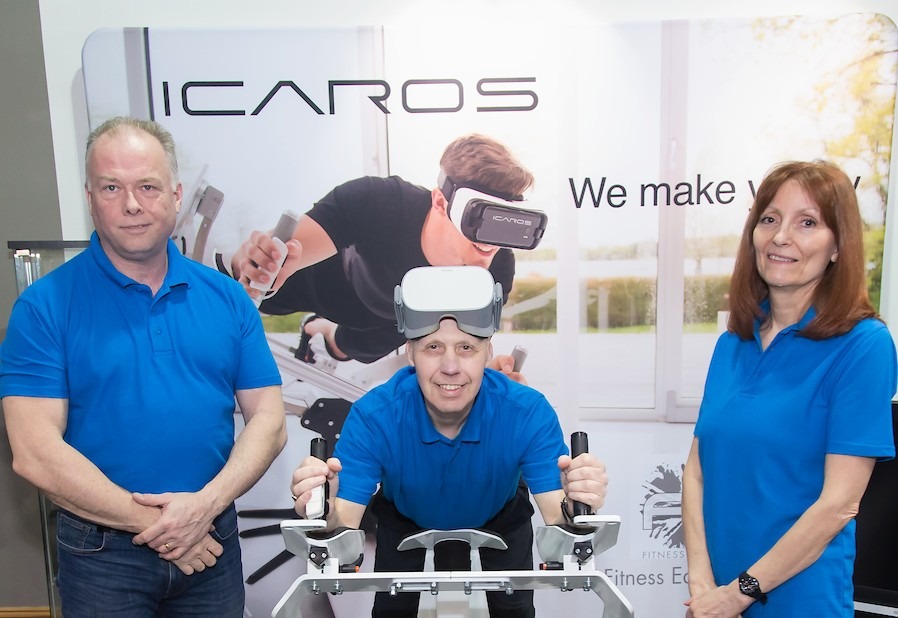 Notts fitness firm flying high with Icaros deal