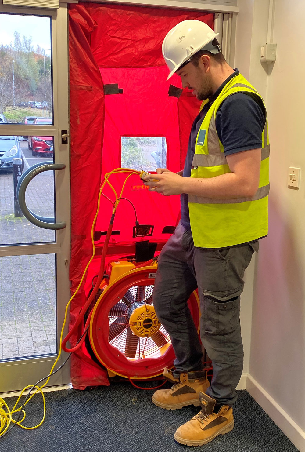 Focus Consultants delivers its 5,000th air pressure test