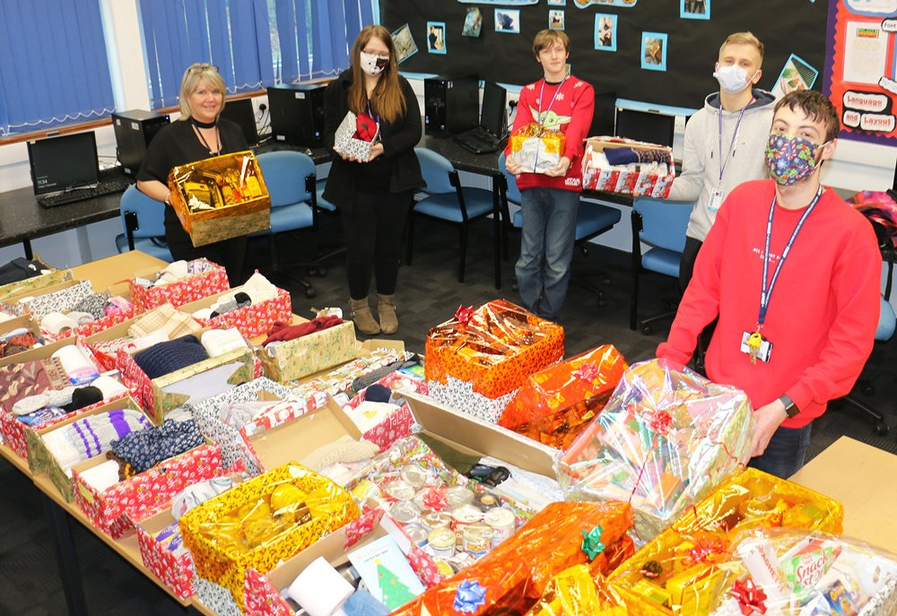 Charities get Christmas boost through college kindness