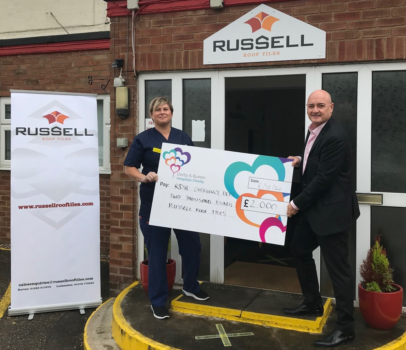 £2K donation for local life-saving charity