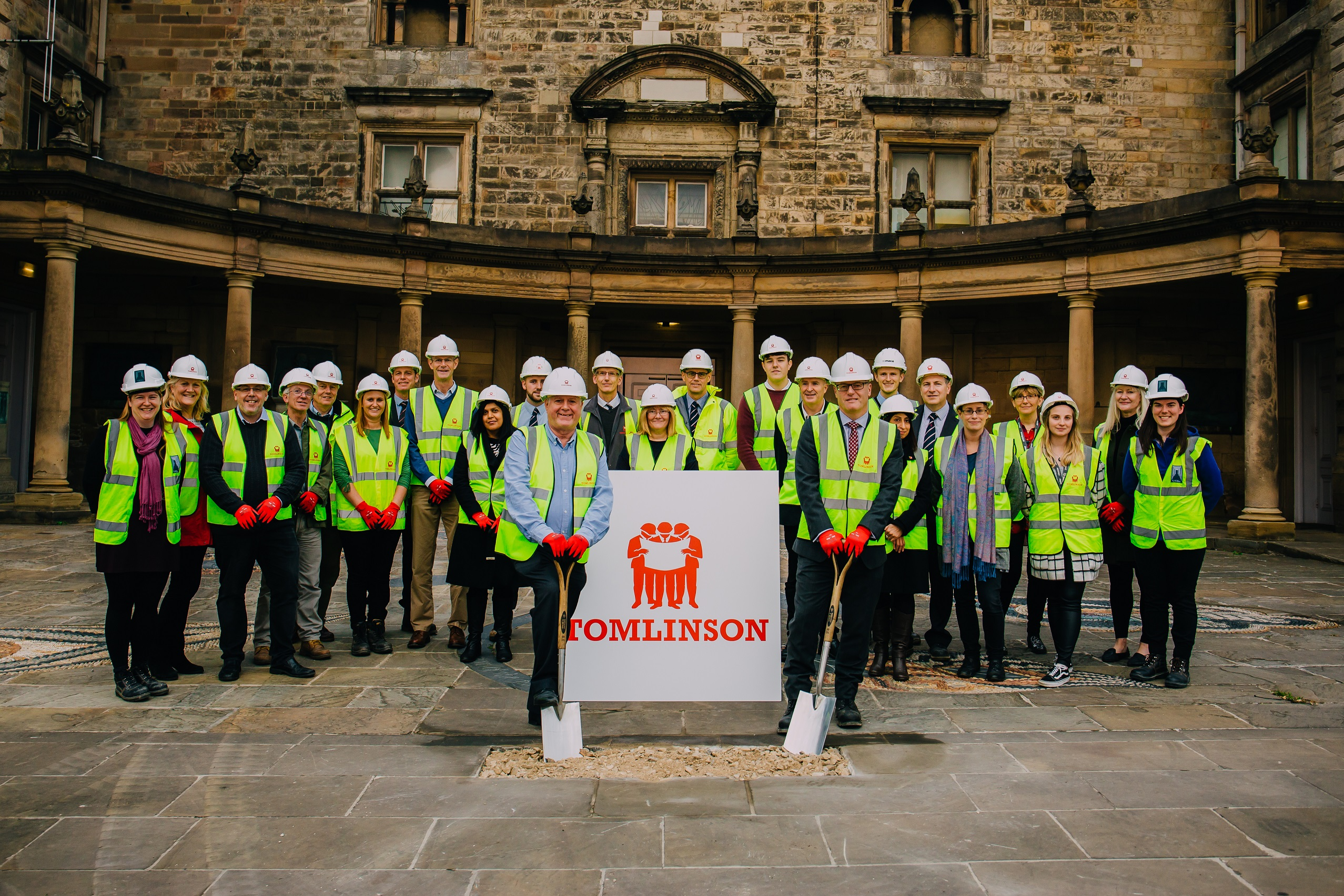 History in the making – transformation works start at Nottingham Castle