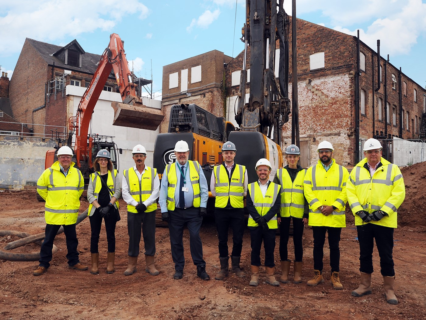 WORK COMMENCES ON PHASE ONE OF £200 MILLION BECKETWELL SCHEME