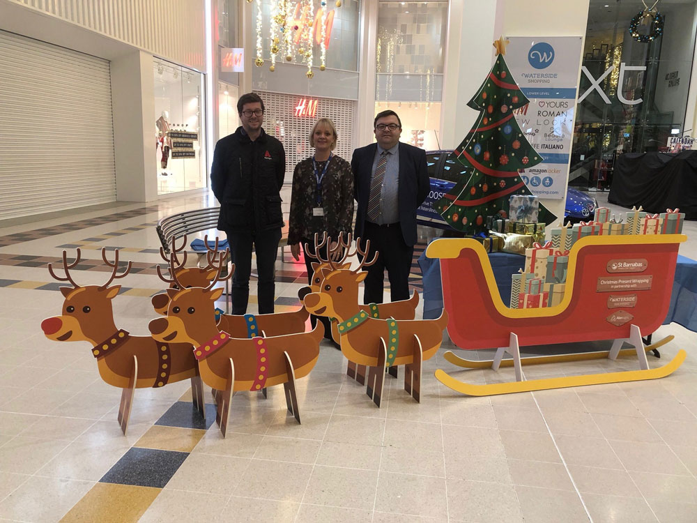 Waterside Centre aiming to wrap up 2019 charity fundraising in style