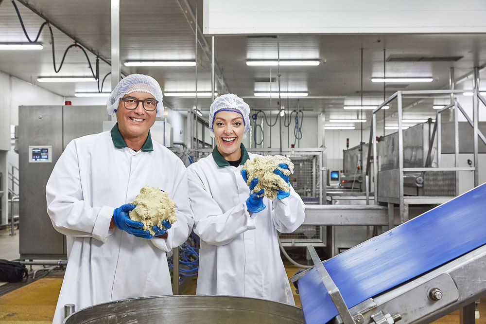Gregg Wallace visits Notts-based Addo Food Group for BBC documentary