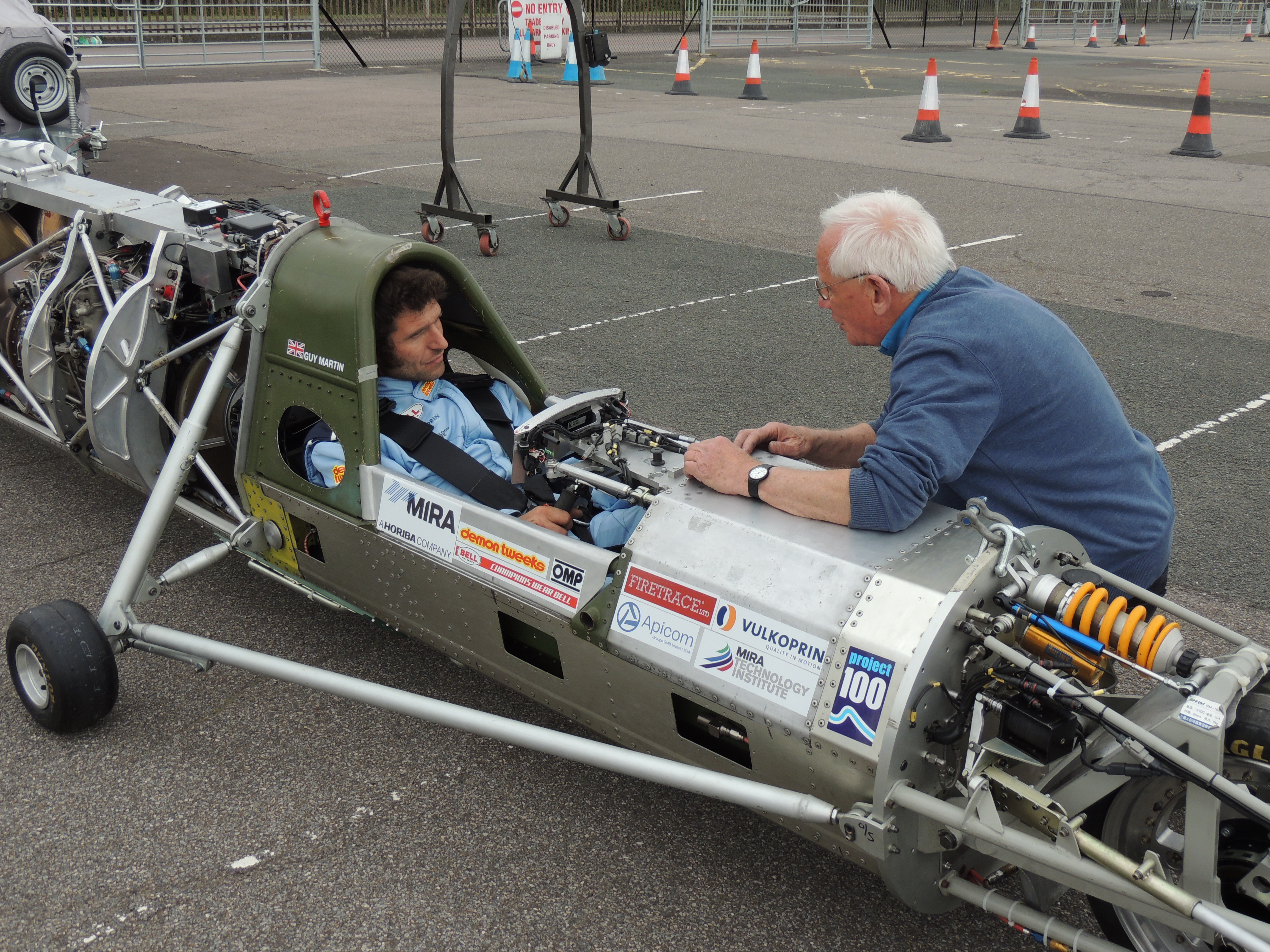 GUY MARTIN'S LAND SPEED RECORD ATTEMPT GAINS TRACTION IN TESTS