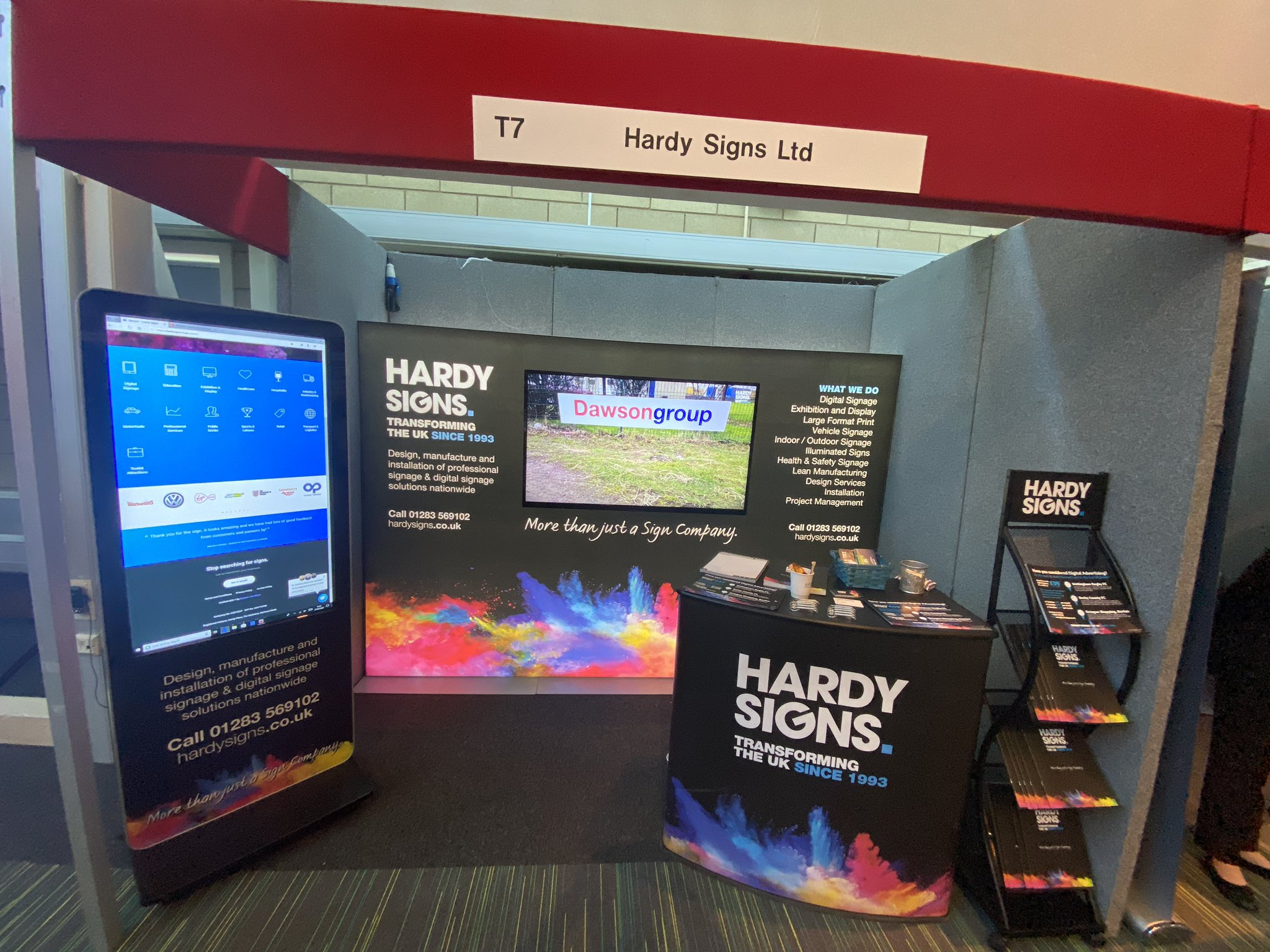 Hardy Signs Exhibiting at Love Business Expo 2022