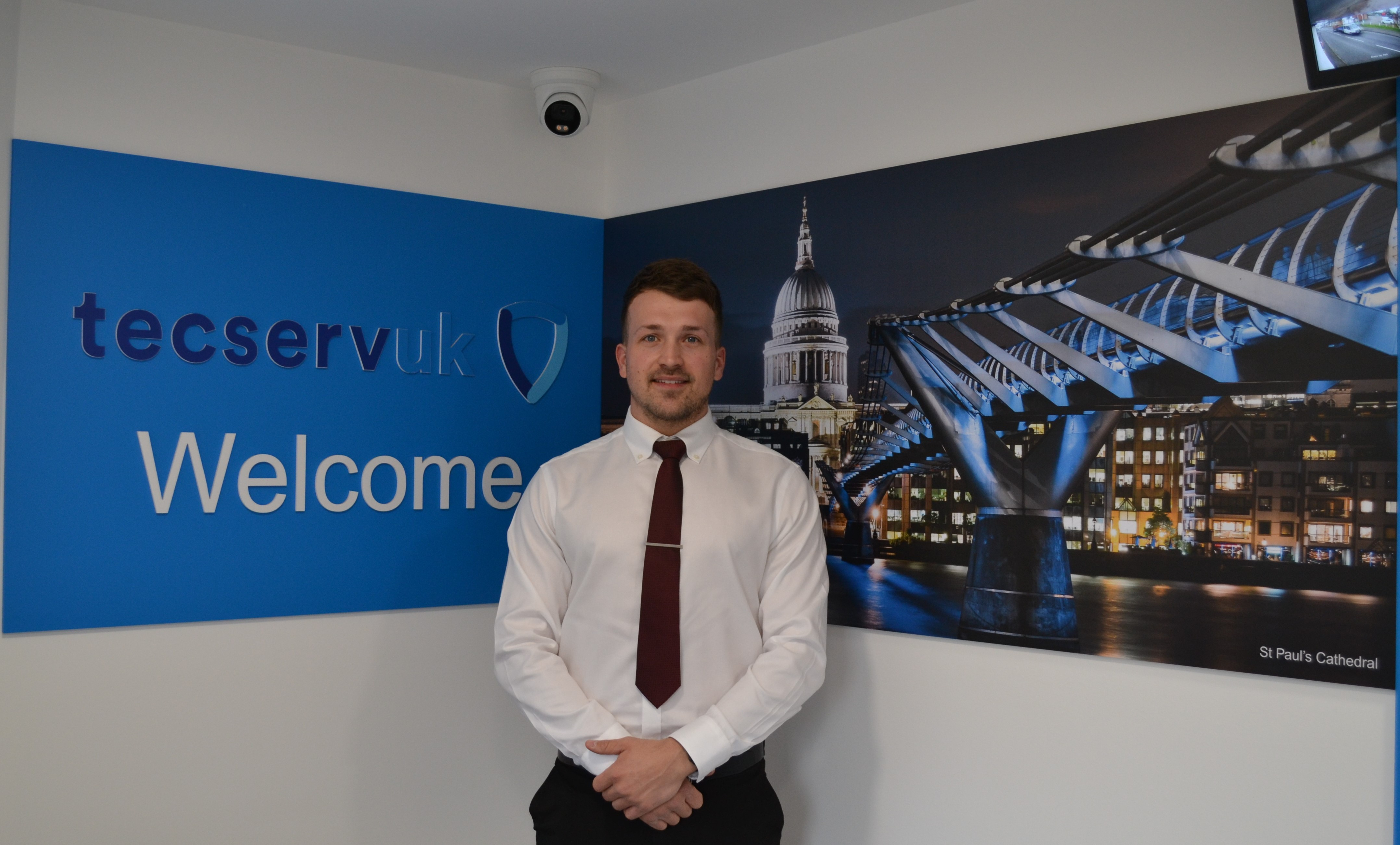 Tecserv UK appoint new commercial fire and security system sales executive