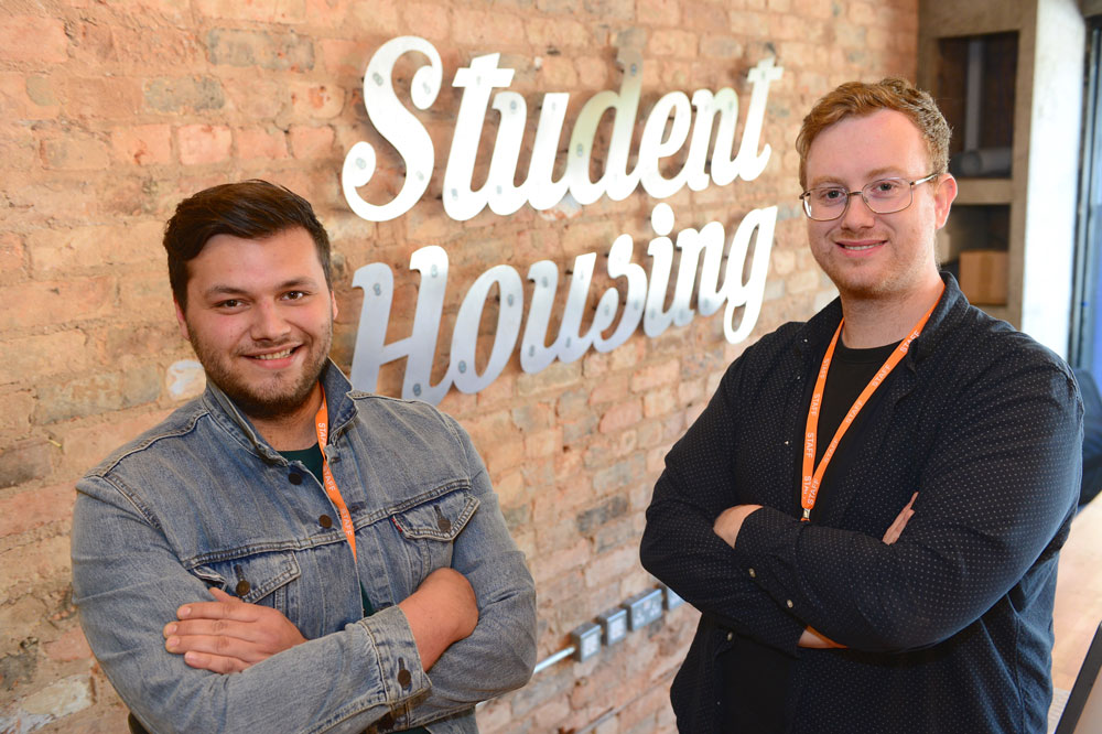 Student housing directors feature in prestigious business awards