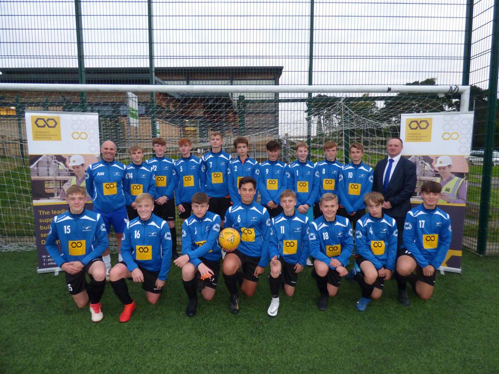 DBCP backs Hilton Harriers FC with kit sponsorship