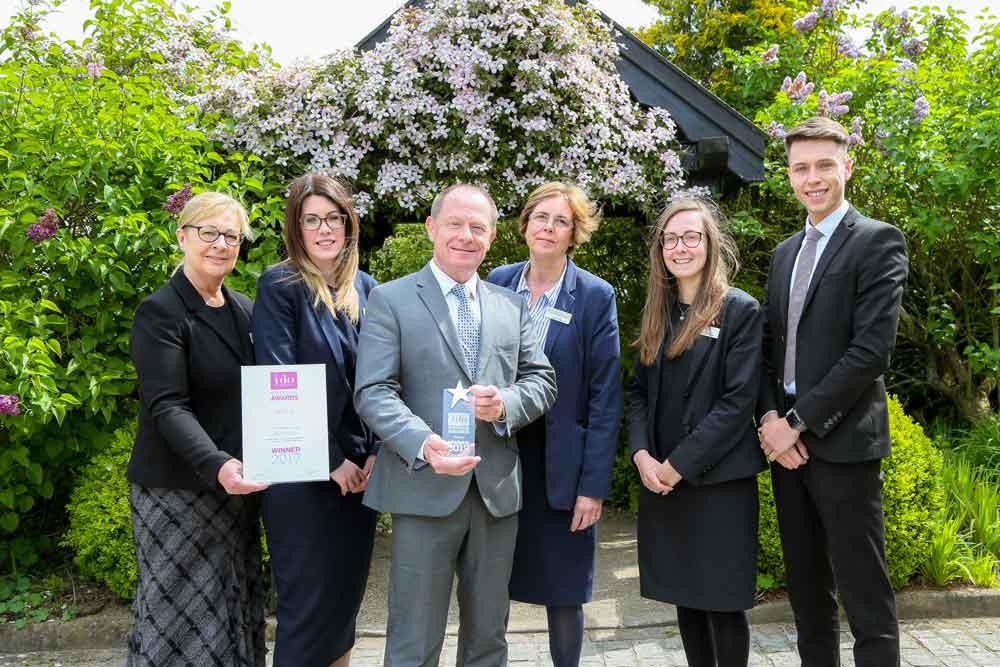 Morley Hayes named East Midlands Wedding Venue of the Year