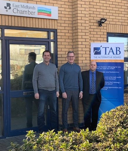 TAB Derby strengthens partnership with Chamber in Pride Park move