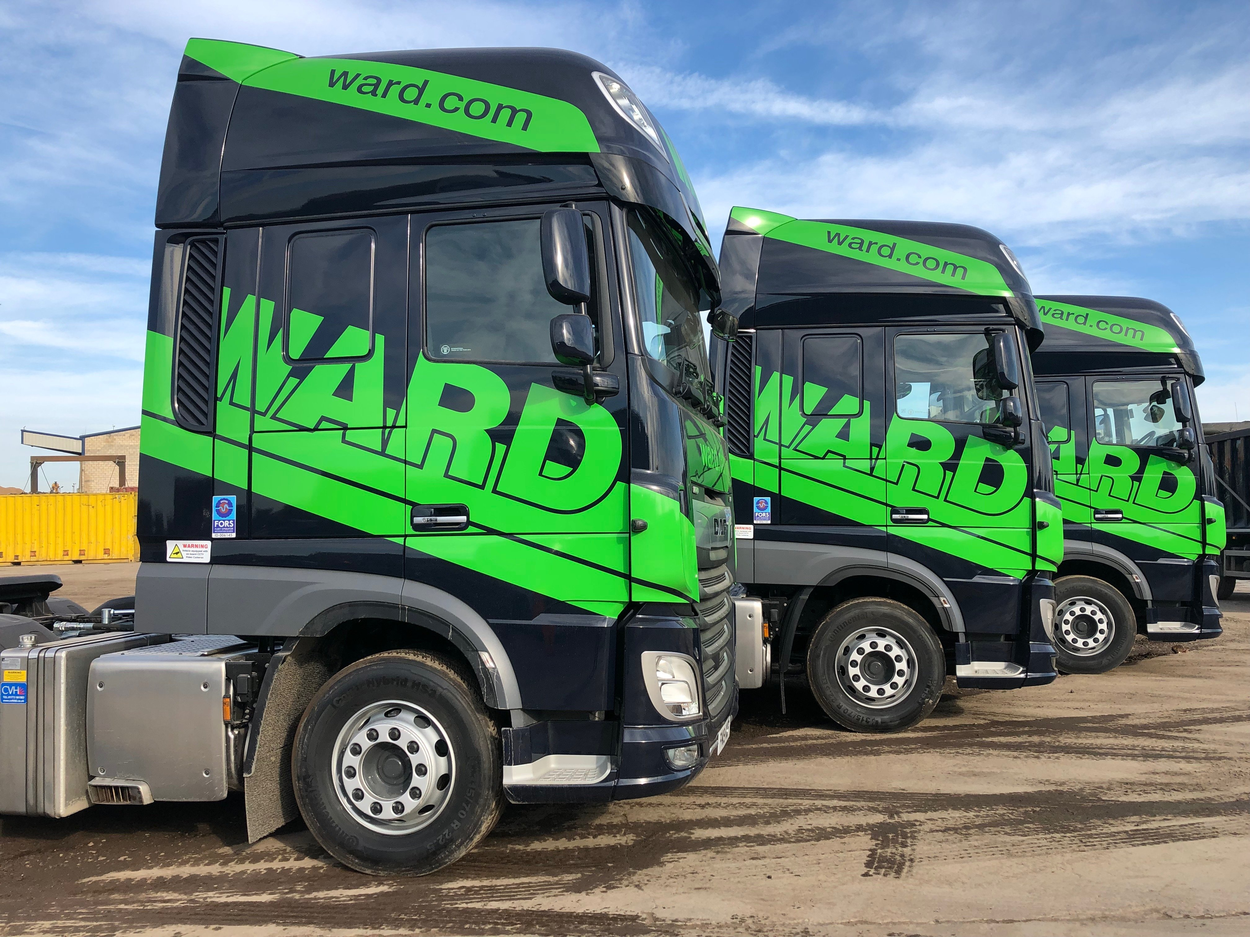 Ward invests over £2million in expanding waste management vehicle fleet
