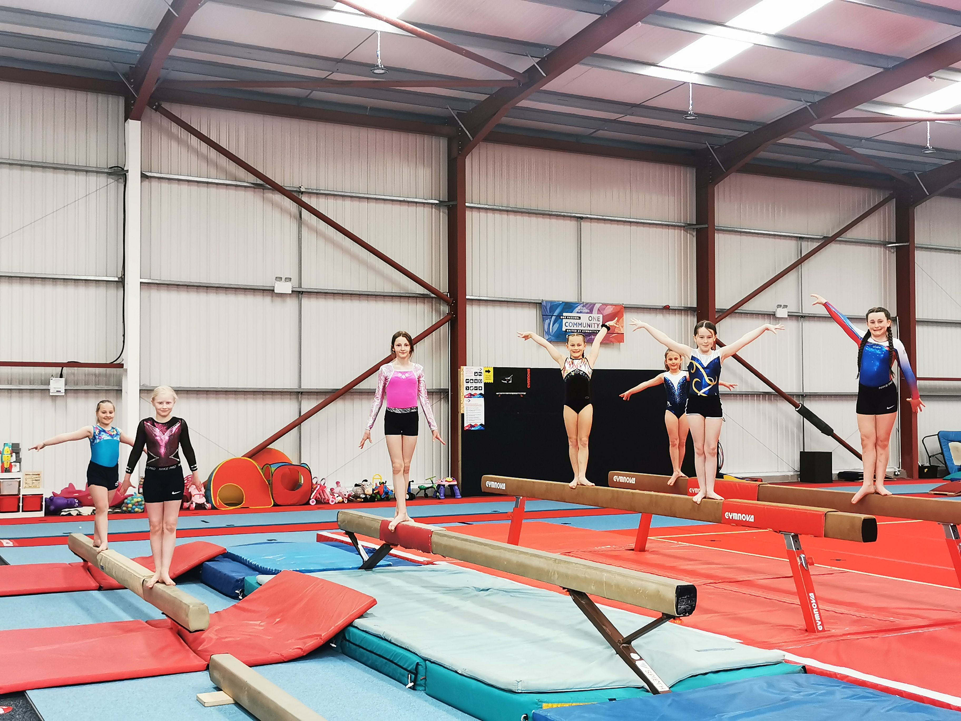 GYMNASTICS ACADEMY BOOSTED BY DONATION FROM AMAZON