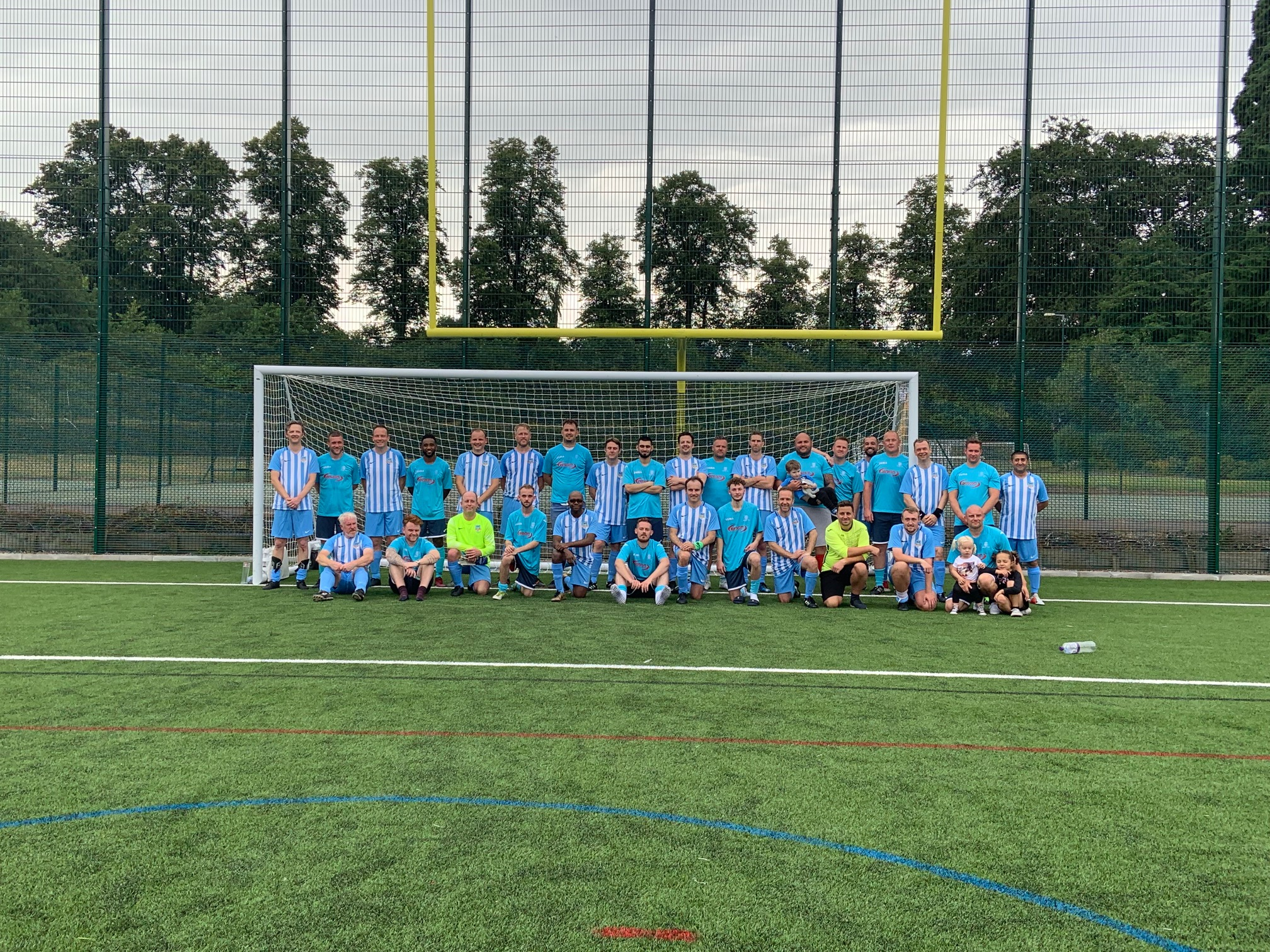 Nottingham Property Group Kicks Off Community Spirit At Football Fundraiser