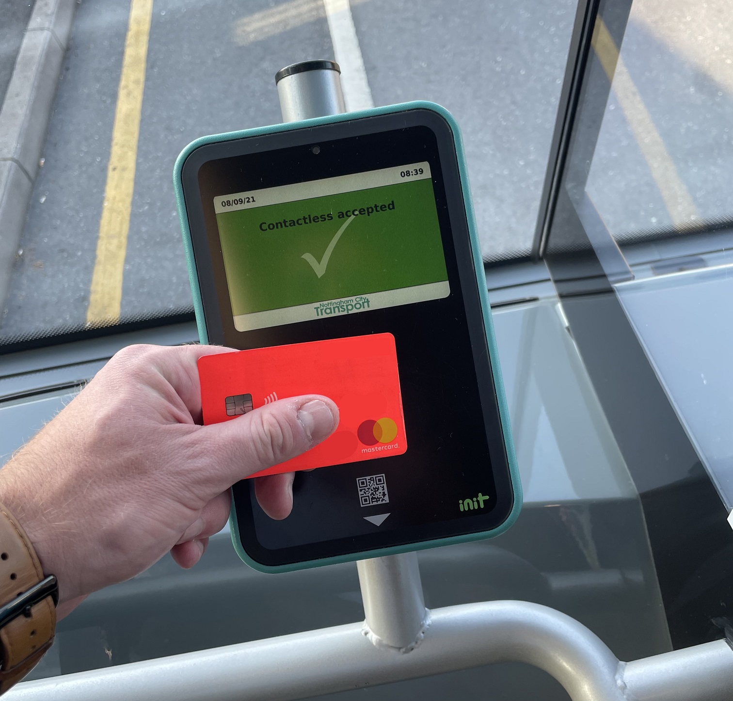 INIT EXTENDS CONTACTLESS TICKETING FOR NOTTINGHAM BUSES AND TRAMS