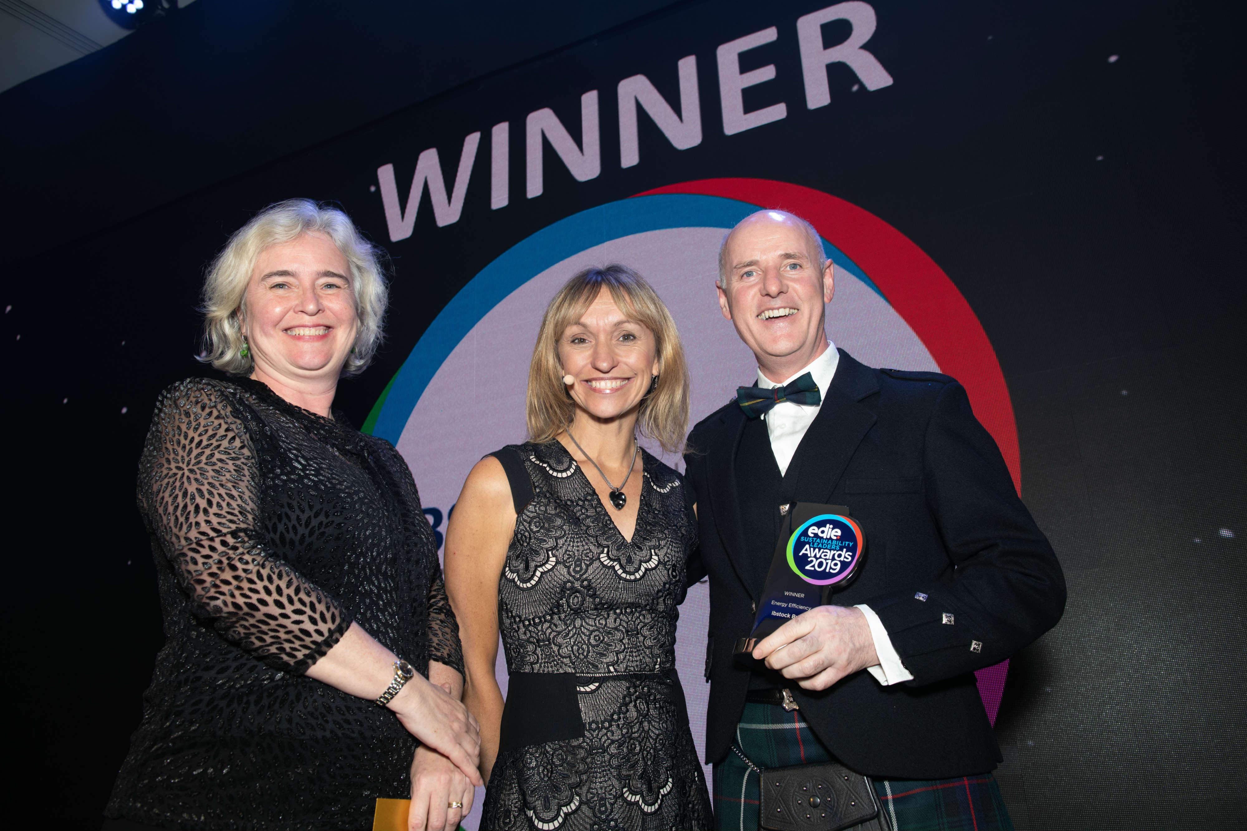 Ibstock Brick scoops Energy Efficiency win at edie Sustainability Leaders Awards 2019