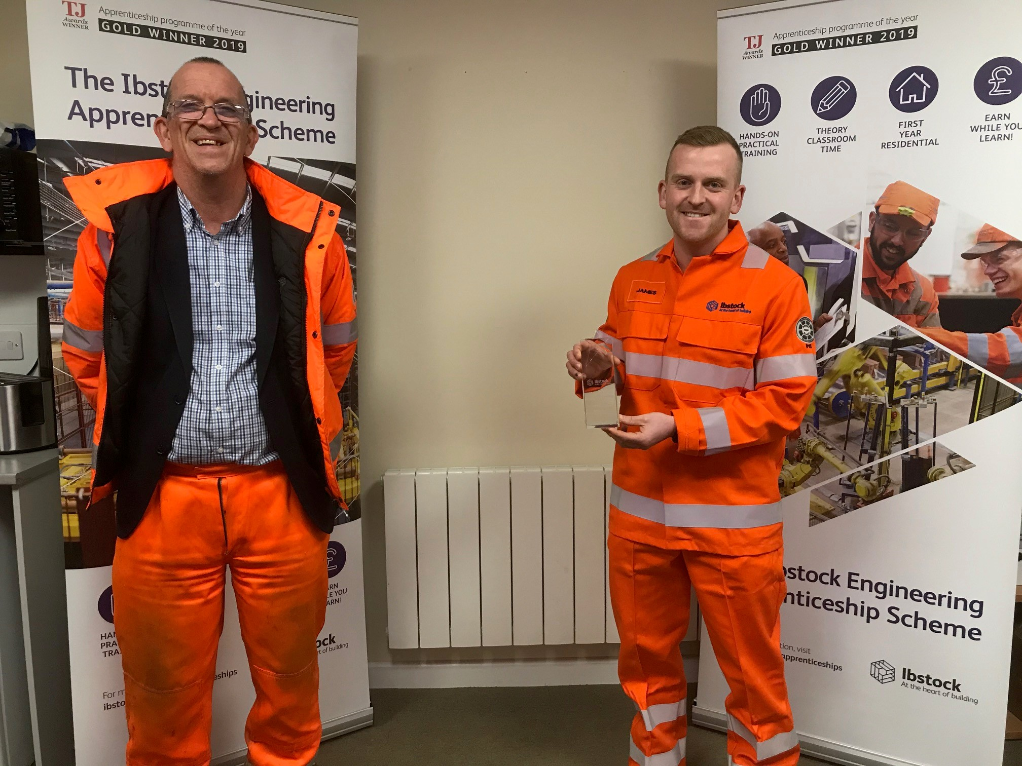 Ibstock Plc names James Dowson as its Apprentice of the Year