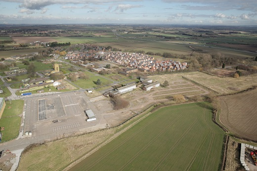 FORMER RAF BASE SET TO BE TRANSFORMED INTO 'GARDEN VILLAGE'