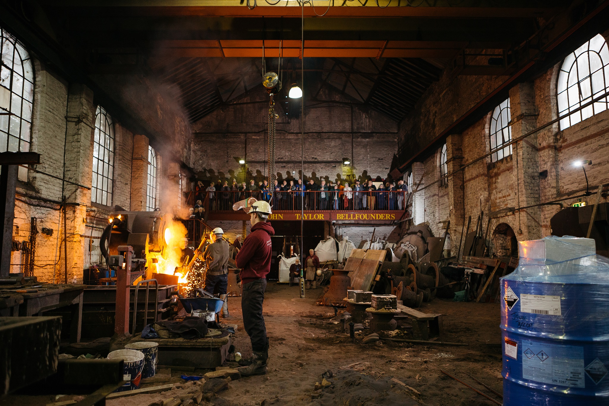 Loughborough Bellfoundry Trust receives lifeline grant from Government's £1.57bn Culture Recovery Fund