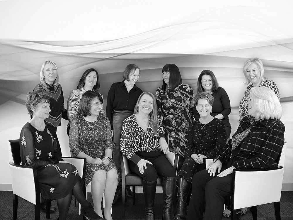 Celebrating the wonderful women of Dimensions for International Women's Day!