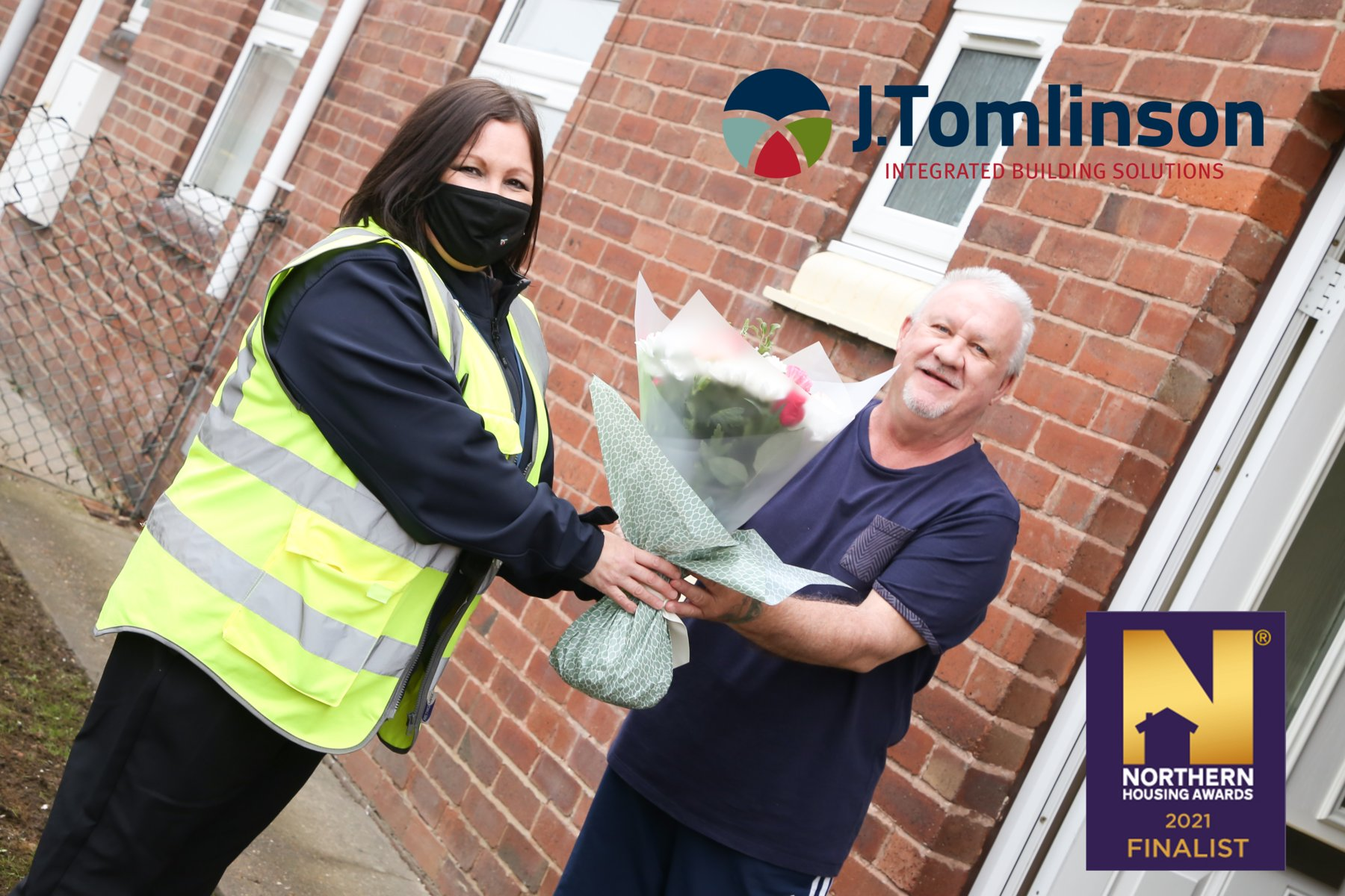J Tomlinson in the running for Contractor of the Year title at 2021 Northern Housing Awards