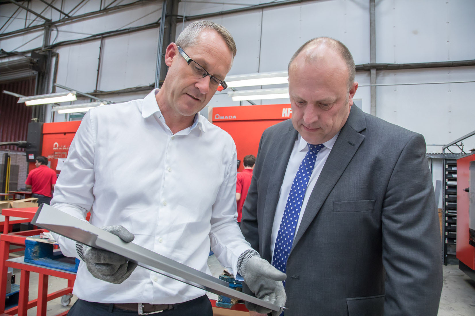 £705,000 manufacturing support boost generates 388 jobs in the East Midlands