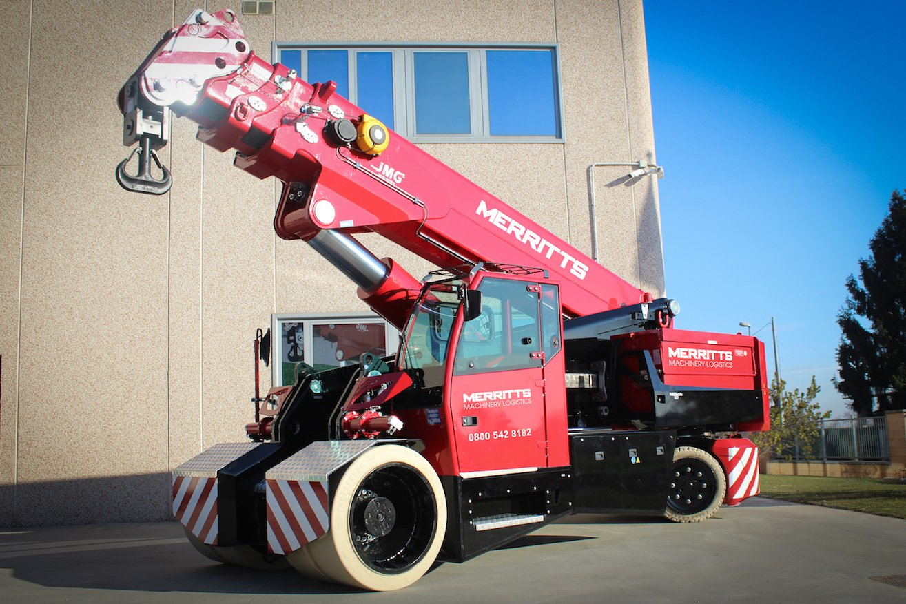 MERRITTS INVEST £400k ON NEW 58 TONNE CAPACITY PICK AND CARRY CRANE