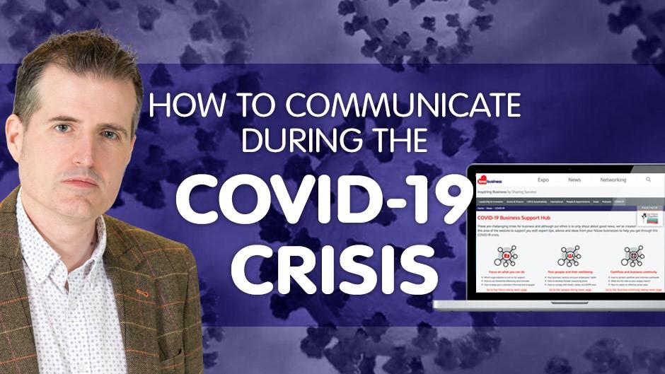 How to communicate during the coronavirus crisis