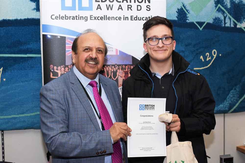 Jack's capital visit to celebrate award