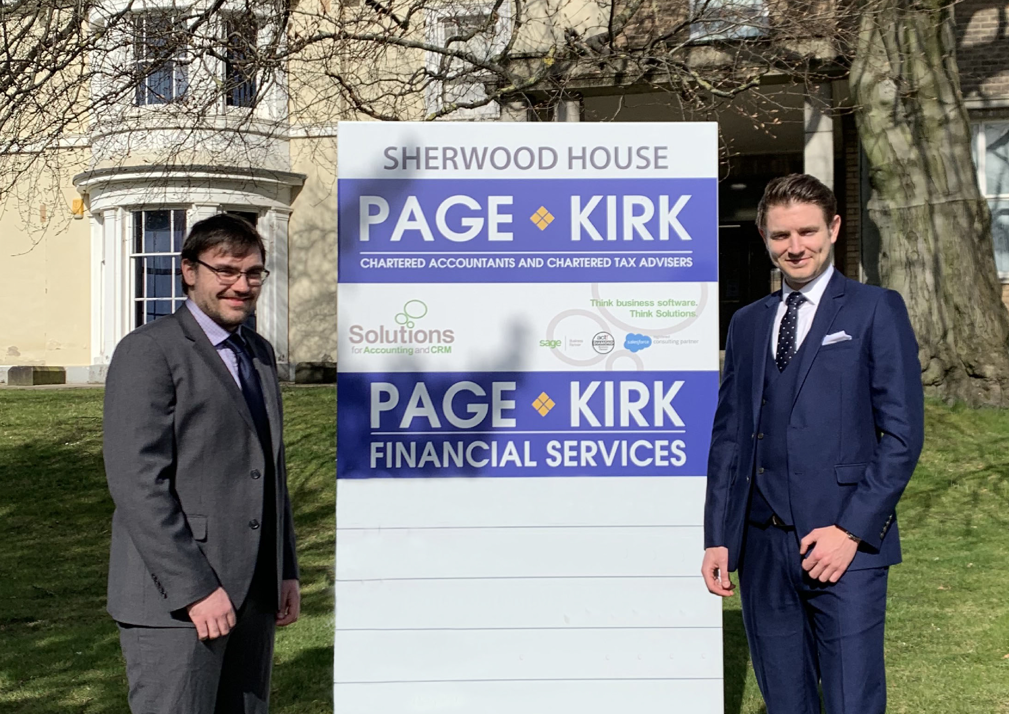 LEADERSHIP LEAPS A GENERATION AT NOTTINGHAM ACCOUNTANCY FIRM