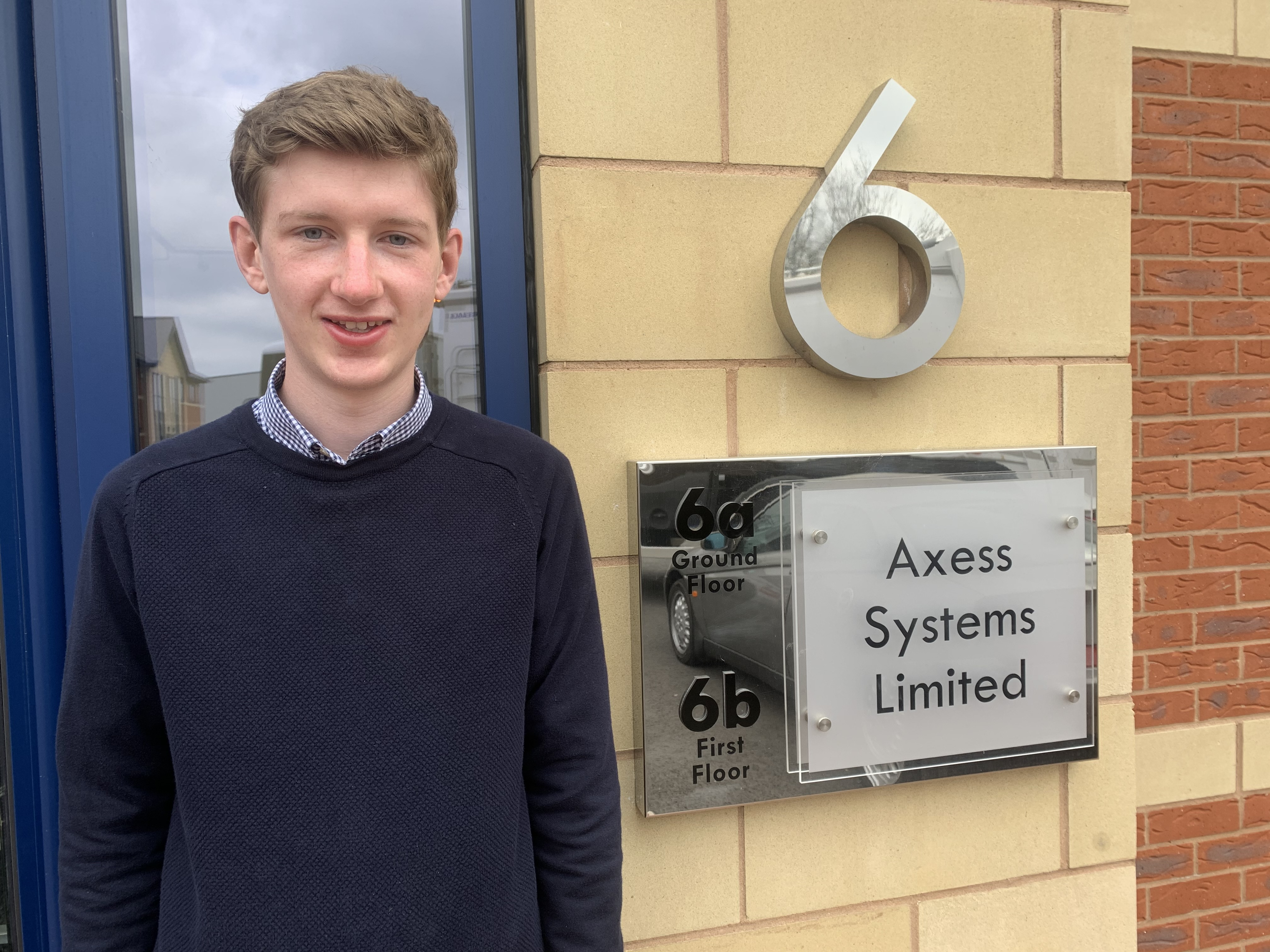 Welcome, James! Axses Systems appoints new marketing executive to its Derbyshire team