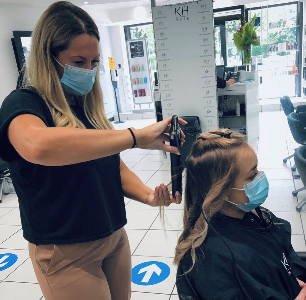 Jessica makes the top six at the British Hairdressing Business Awards 2021