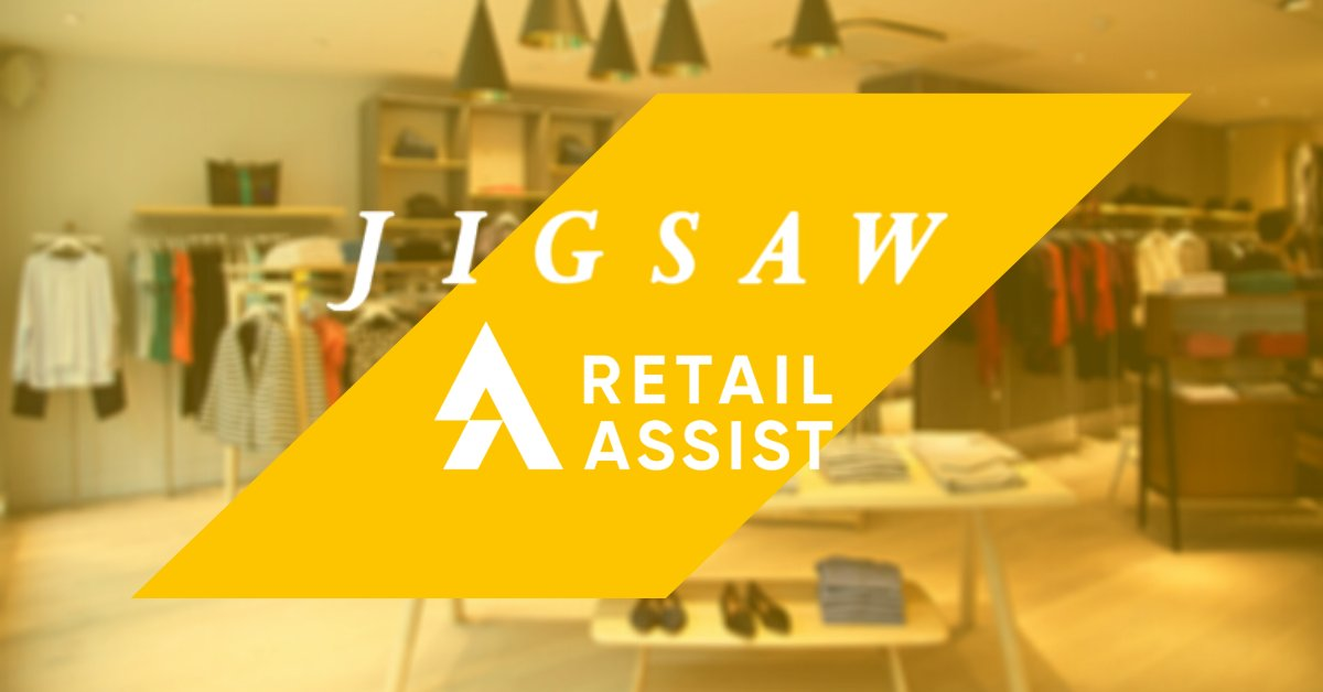 Jigsaw Celebrates Renewed Contract with Retail Assist