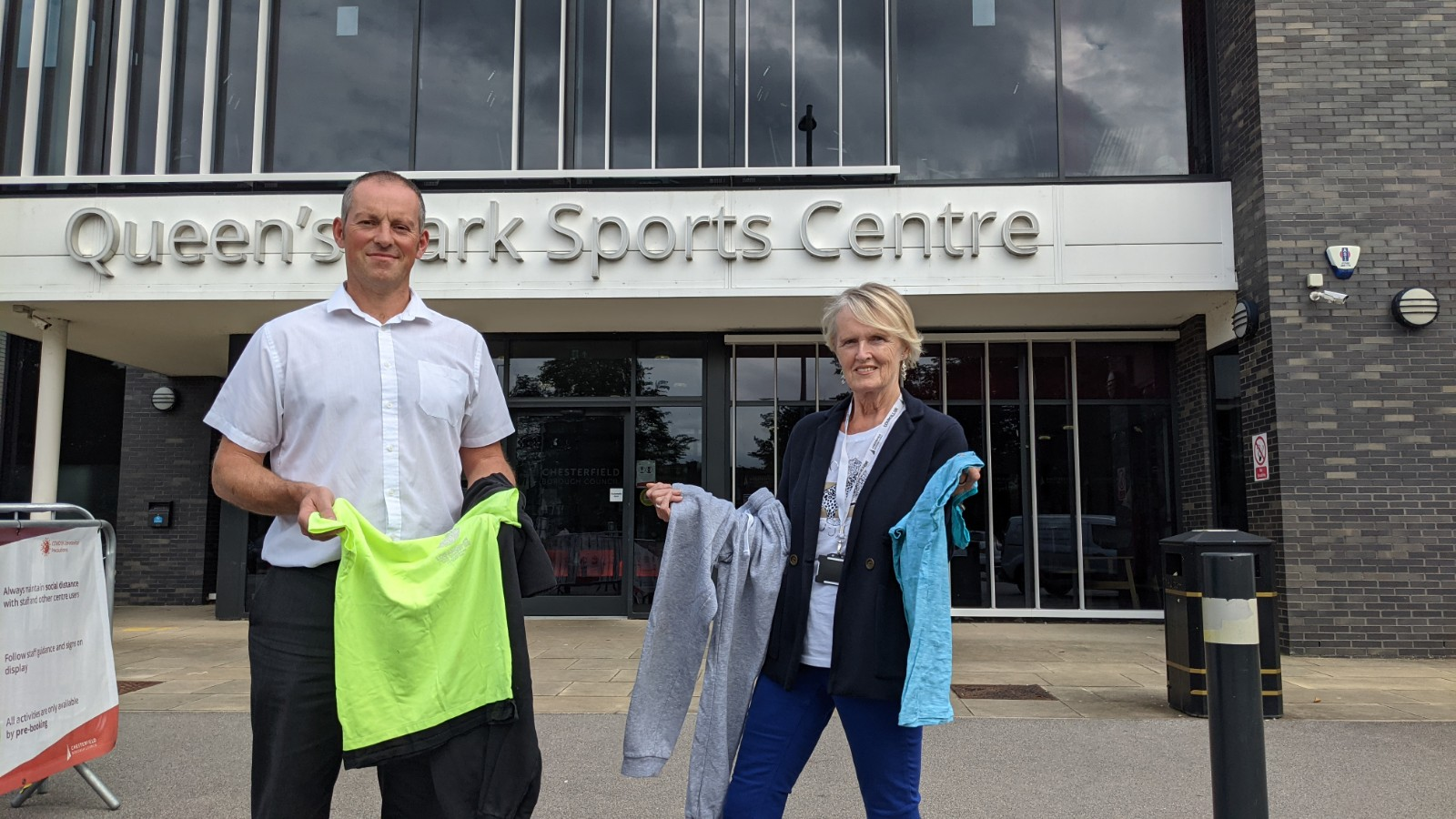 Donate unwanted sports kit at Queen's Park Sports Centre and the Healthy Living Centre