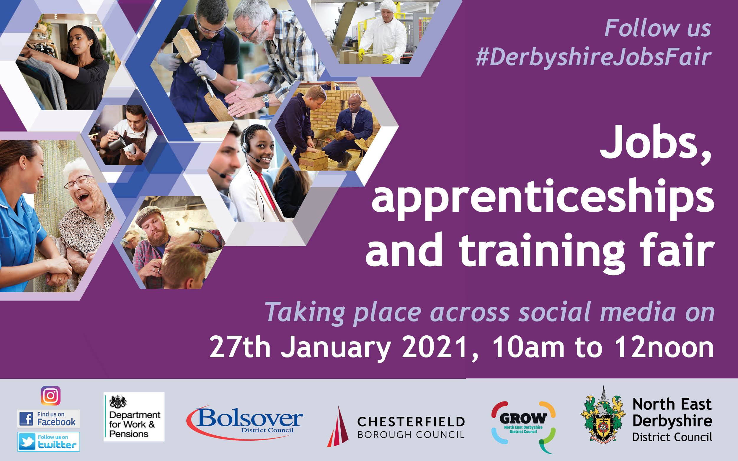 Councils Team up to Host Third Virtual Apprenticeships and Jobs Fair